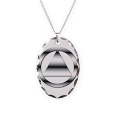 AA10 Necklace Oval Charm