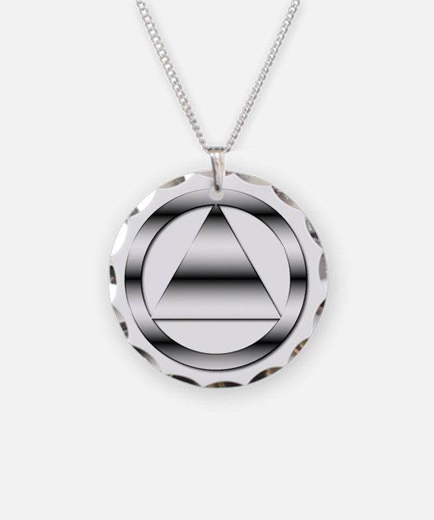 AA10 Necklace Circle Charm