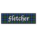 Tartan - Fletcher Sticker (Bumper 10 pk)