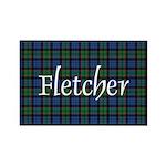 Tartan - Fletcher Rectangle Magnet (10 pack)