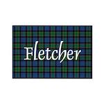 Tartan - Fletcher Rectangle Magnet (100 pack)