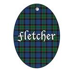 Tartan - Fletcher Ornament (Oval)