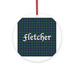 Tartan - Fletcher Ornament (Round)