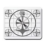 Test pattern Classic Mousepad