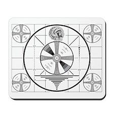 1950's TV Test Pattern Mousepad