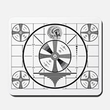 1950's TV Test Pattern Mousepad