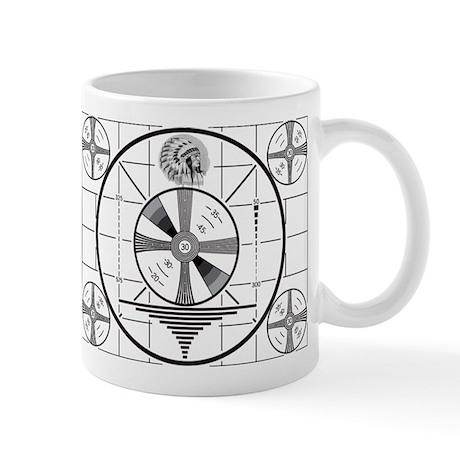 1950's TV Test Pattern Mug
