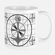 1950's TV Test Pattern Mug