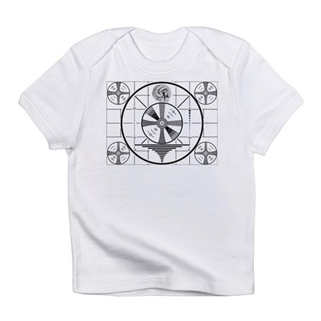 1950's TV Test Pattern Infant T-Shirt
