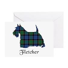 Terrier - Fletcher Greeting Card
