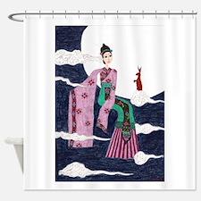 Chang 'E Shower Curtain