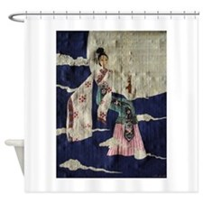 Chang 'E (Papyrus Ver.) Shower Curtain