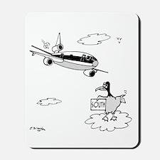 Bird Hitchhiking South Mousepad