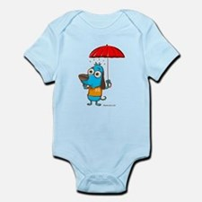 Doggy Umbrella Infant Bodysuit