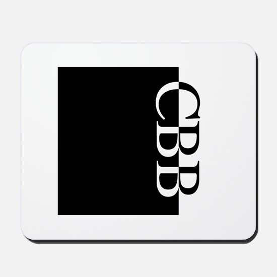 CBB Typography Mousepad