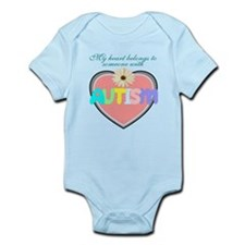 I love someone with autism 2 Infant Bodysuit
