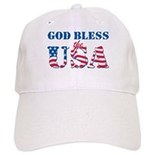 God Bless the USA Baseball Cap