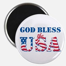 "God Bless the USA 2.25"" Magnet (10 pack)"