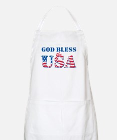 God Bless the USA Apron