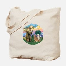StFrancis(ff)-Two Goldens Tote Bag