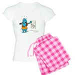Superstitious Doggy - Friday Women's Light Pajamas