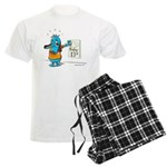 Superstitious Doggy - Friday Men's Light Pajamas