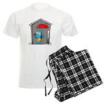 Superstitious Doggy - Open Um Men's Light Pajamas