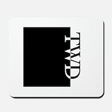 TWD Typography Mousepad