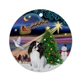 Dog ornaments Round Ornaments
