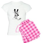 Superstitious Doggy - Spilt S Women's Light Pajama