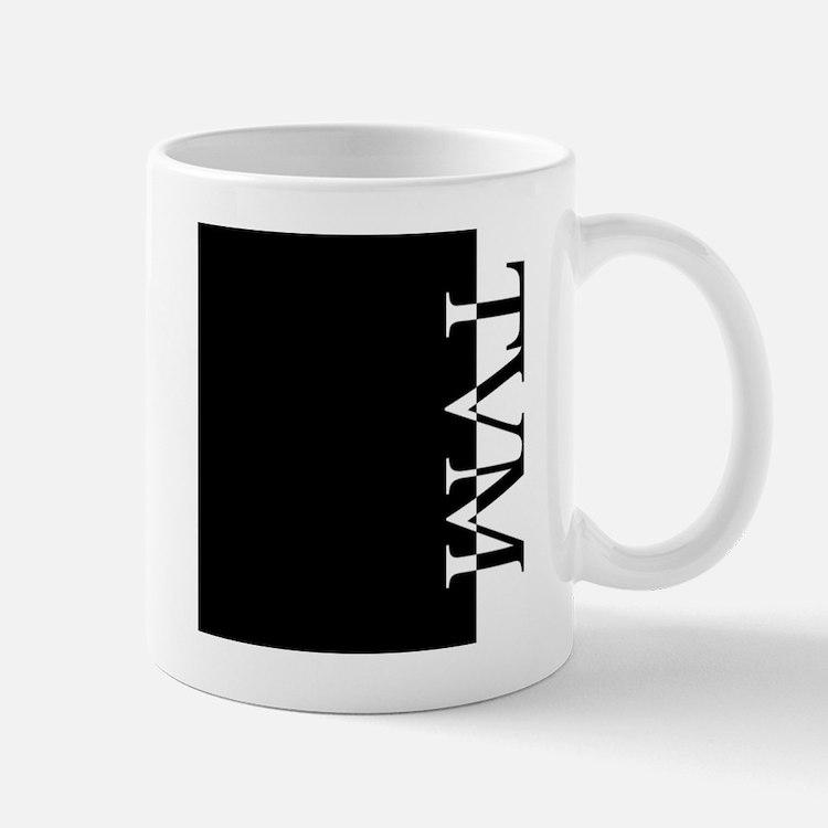 TVM Typography Mug
