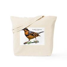 Varied Thrush Tote Bag