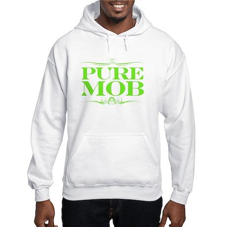 Official Lil Rue Neon Green Print Hooded Sweatshir