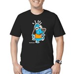 I'm Outta Here! Men's Fitted T-Shirt (dark)
