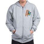 Superstitious Doggy - Walking Zip Hoodie
