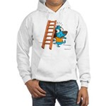 Superstitious Doggy - Walking Hooded Sweatshirt
