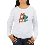 Superstitious Doggy - Walking Women's Long Sleeve