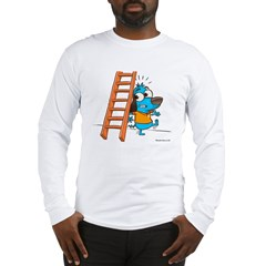 Superstitious Doggy - Walking Long Sleeve T-Shirt
