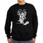 Superstitious Doggy - Spilt S Sweatshirt (dark)