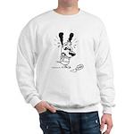 Superstitious Doggy - Spilt S Sweatshirt