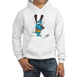 Superstitious Doggy - Spilt S Hooded Sweatshirt