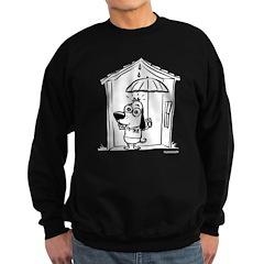 Superstitious Doggy - Umbrell Sweatshirt