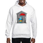 Superstitious Doggy - Open Um Hooded Sweatshirt