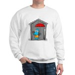 Superstitious Doggy - Open Um Sweatshirt