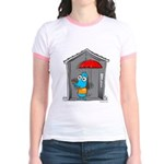 Superstitious Doggy - Open Um Jr. Ringer T-Shirt