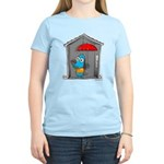 Superstitious Doggy - Open Um Women's Light T-Shir