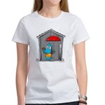 Superstitious Doggy - Open Um Women's T-Shirt