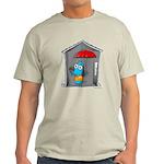 Superstitious Doggy - Open Um Light T-Shirt