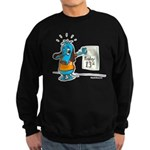 Superstitious Doggy - Friday Sweatshirt (dark)