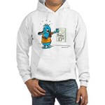 Superstitious Doggy - Friday Hooded Sweatshirt